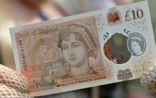 new ten pound note in united kingdom